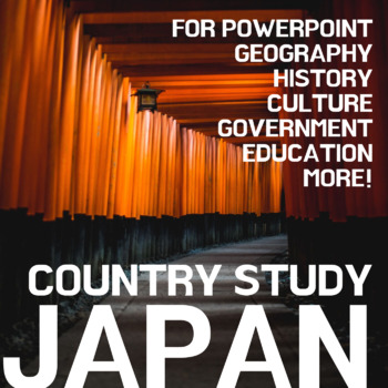JAPAN - Lesson: Geography, History, Culture, Government Po