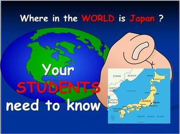 Japan: Map Activities