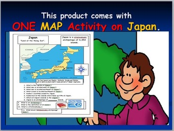 Japan: Map Activities and Earthquake Internet Activity