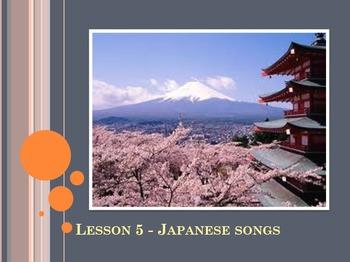 World Music (Japan) Unit Plan