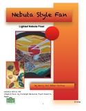 Japan Nebuta Style Fan Visual Arts lesson for Grades 3 to 8