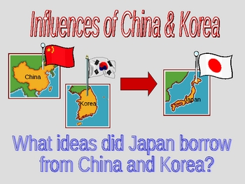 Japan PowerPoint - Influences from China