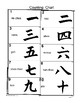 Japan: Practicing on a Soroban and a Counting Chart