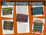 Japan Primary Source - 1st Letter between America and Japan w guiding questions
