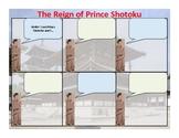Japan - Prince Shotoku Comic Strip