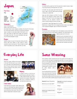 Japan (Fun stuff for elementary grades)