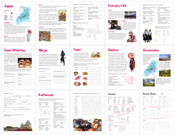 Japan (Fun stuff for elementary grades)