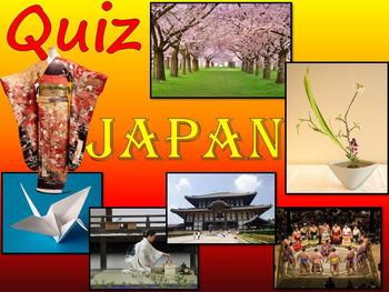Japan - Quiz - Power Point Presentation