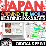 Japan Reading Passages Distance Learning Google Classroom