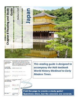 Japan Reading and Study Guide