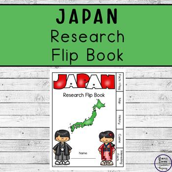 Japan Research Flip Book