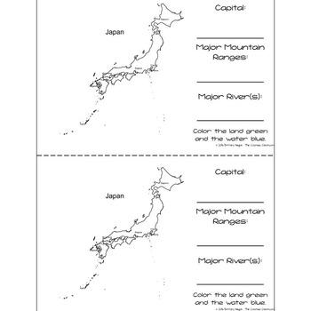 Japan - Research Mini Book