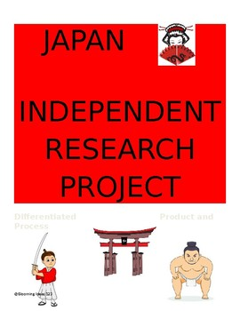Japan Independent  Research Project (Differentiated process and product)