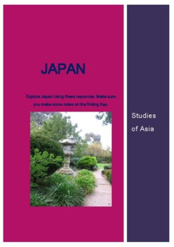 Japan: Studies of Asia. Simulation and Webquest