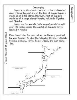 Japan Tab Booklet