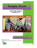 Japan Temple Book Visual Arts lesson for Grades 3 to 9