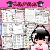 Japan Themed Activity Set