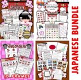 Japan Themed Classroom Center Activity Bundle