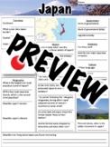 Japan Worksheet