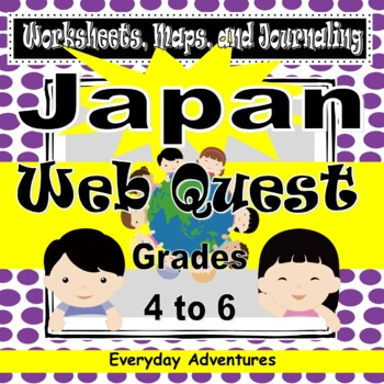 Japan:  Worksheets, Maps, and Journaling Pages