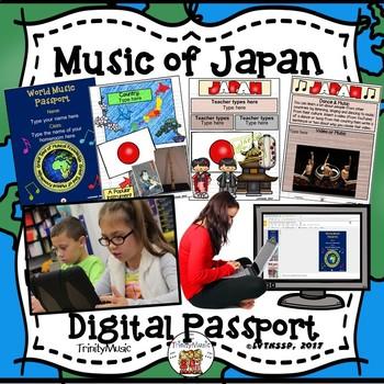 Japan World Music Digital Passport