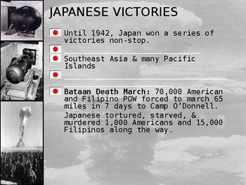Japan and The U.S. Face Off! (The end of WWII) STUDENT HANGOUT for PPT