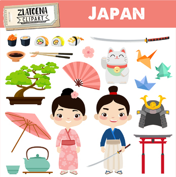 japan clipart japanese clipart geisha samurai clipart asia graphics rh teacherspayteachers com japanese clipart japanese clip art free