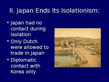 Japan during the Age of Imperialism