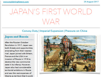 Japan's rise to power bundle 1860-1918