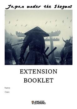 Japan under the shoguns extension booklet