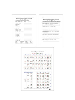 Japanese Activity: Homophone Character Choice Exercise 同音異字 Worksheets