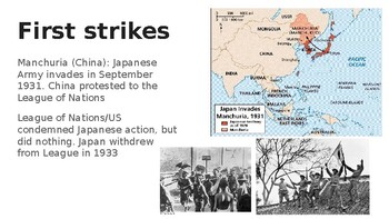 Japanese Aggression PowerPoint Presentation (Pre-WWII)