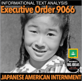 Japanese American Internment Informational Text Analysis for WW2