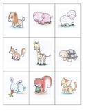 Japanese Animals Memory Game