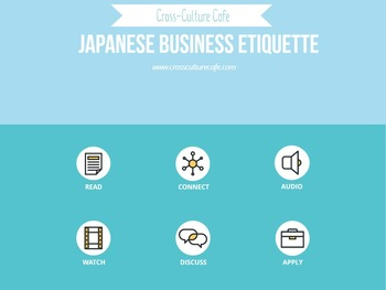 Japanese Business Etiquette: Cross-Cultural/Business English/ESL Lesson