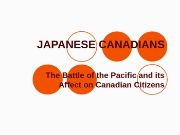 Japanese Canadians - Internment Camps