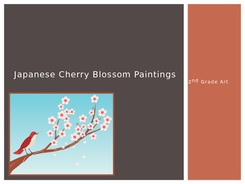 Japanese Cherry Bloosom PowerPoint and Lesson Activity