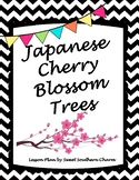 Japanese Cherry Blossom Art Lesson by Sweet Southern Charm
