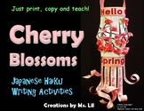 Japanese Cherry Blossom Lanterns ::  Spring Craft  ::  Haiku Poetry