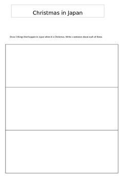 Christmas in Japan Booklet