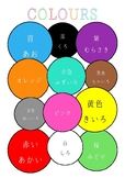 Japanese Colours Poster