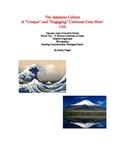 Japanese Culture Mini-Unit - Hokusai & Mt. Fuji