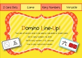 Japanese Kanji Number DOMINO LINE-UP