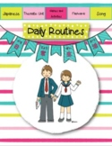 Japanese: Daily Routines Unit