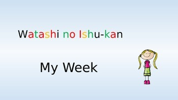 Japanese - Days of the week BIG BOOK