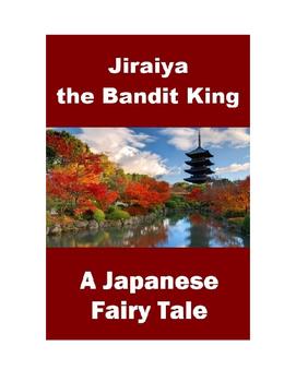 Japanese Fairy Tale - Jiraiya the Bandit