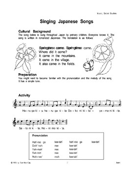 Japanese Festivals and Music