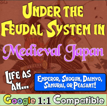 Feudal Japan in the Middle Ages: Students explore first pe