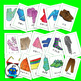 Japanese Flash Cards - Clothing and Accessories. Jeans, pants, t-shirt, skirt...