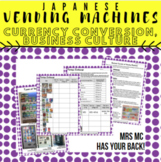 Japanese Food: Vending Machines Foreign Exchange Rates Bus